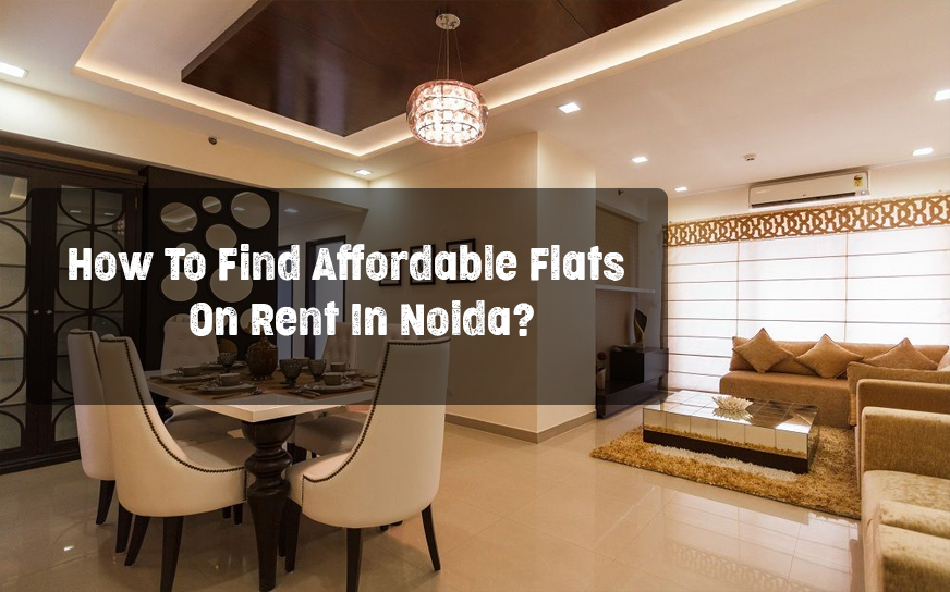 How To Find Affordable Flats On Rent In Noida?